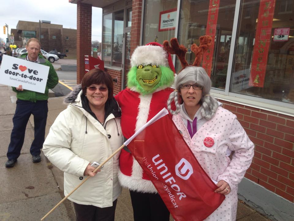 The Grinch and other allies in Moncton