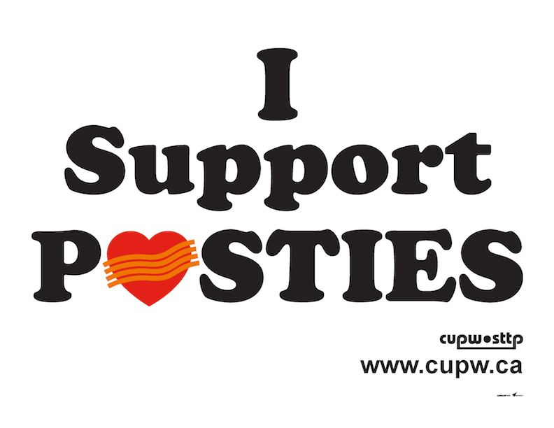 I Support Posties