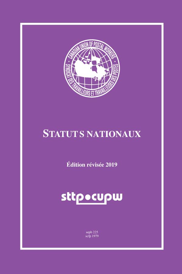 STTP - Statuts nationaux (édition révisée 2019)