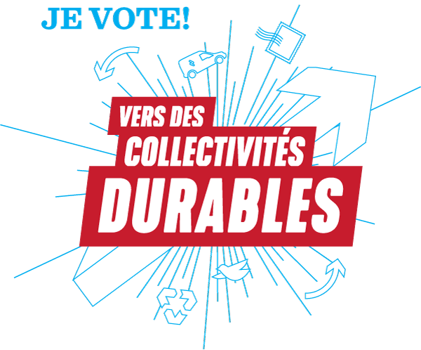 Je vote! Vers des collectivités durables