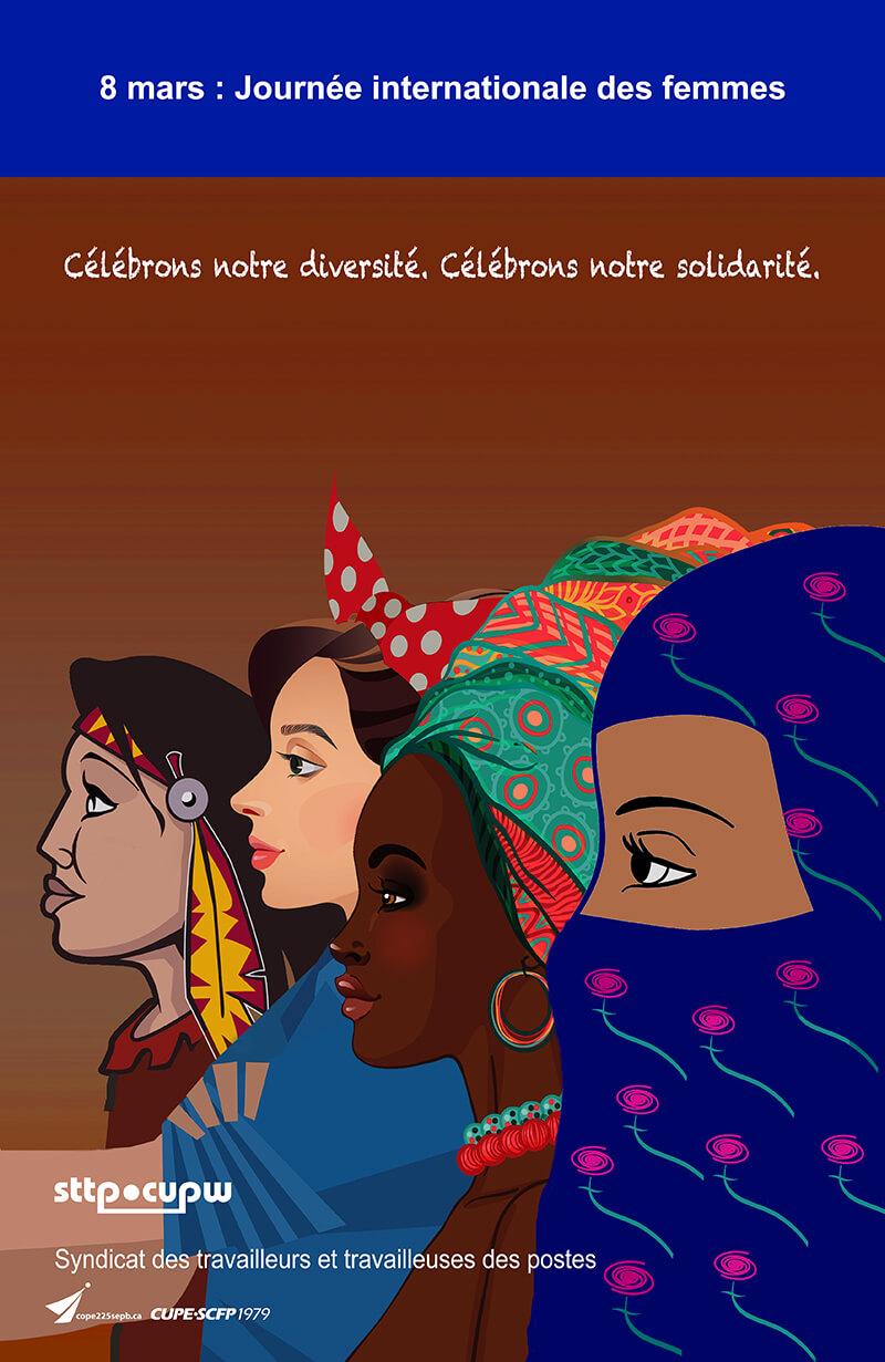 Affiche Pour La Journée De La Femme sttp - 2018-03-02 - affiche à l'occasion de la journée