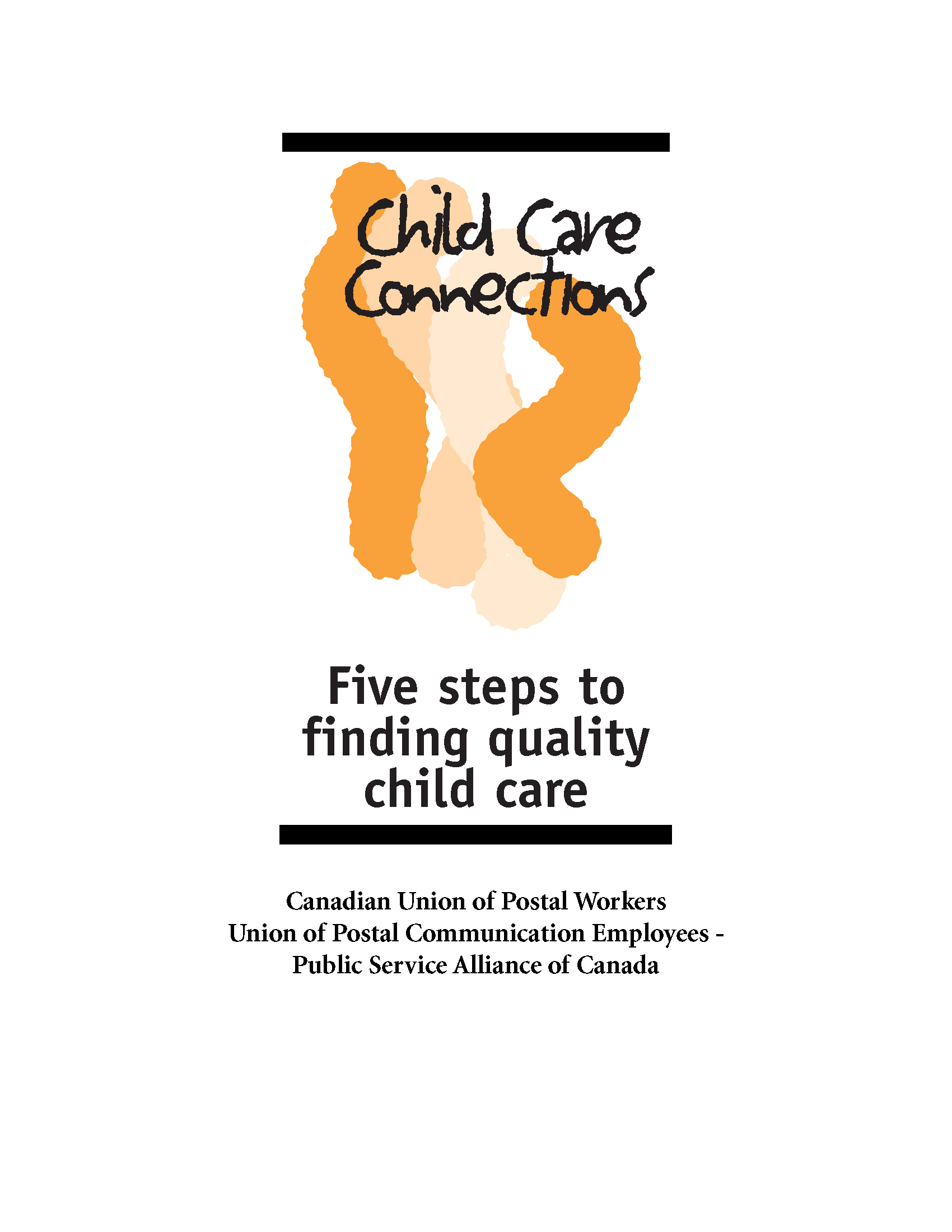 Five steps to finding quality child care