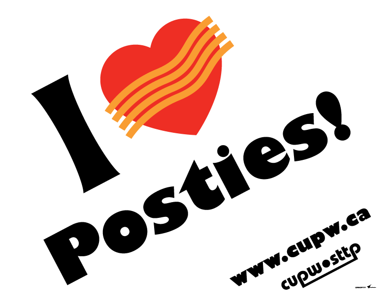 I (heart) Posties!
