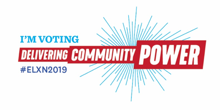 I'm Voting Delivering Community Power