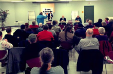 Nova Local holds town hall meeting with NDP MP Megan Leslie