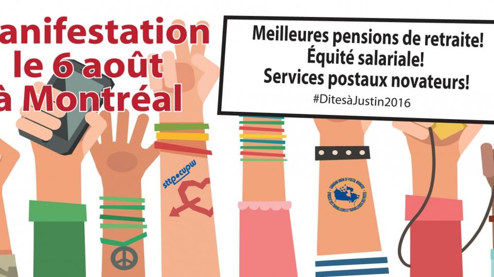 Nous voulons que le gouvernement libéral use de son influence considérable pour veiller à ce qu'une société d'État comme Postes Canada soit en phase avec les objectifs du gouvernement visant à améliorer les pensions de retraite, l'équité salariale et le s