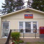 Photo of a rural post office