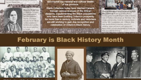 Poster (2020) - Black History Month – Educate and Celebrate!