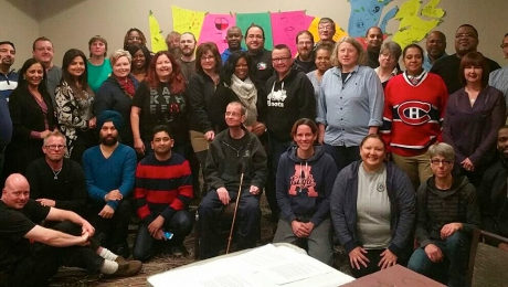 CUPW National Human Rights Committee members (2015-2019)