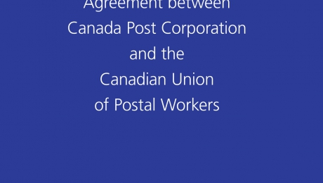 Collective Agreements - Canadian Union of Postal Workers