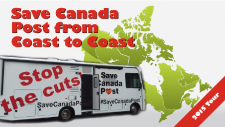 Save Canada Post from Coast to Coast