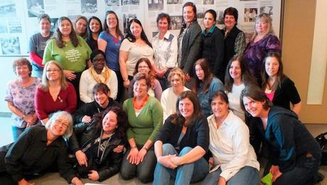 Photo: CUPW National Women's Committee members (2011-2015)