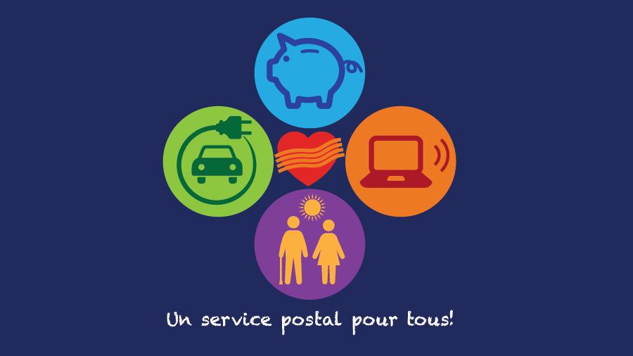 Un service postal pour tous!